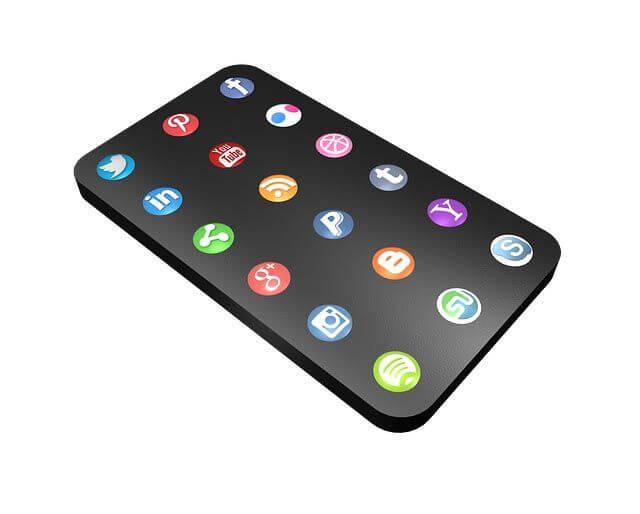 réseaux sociaux profil