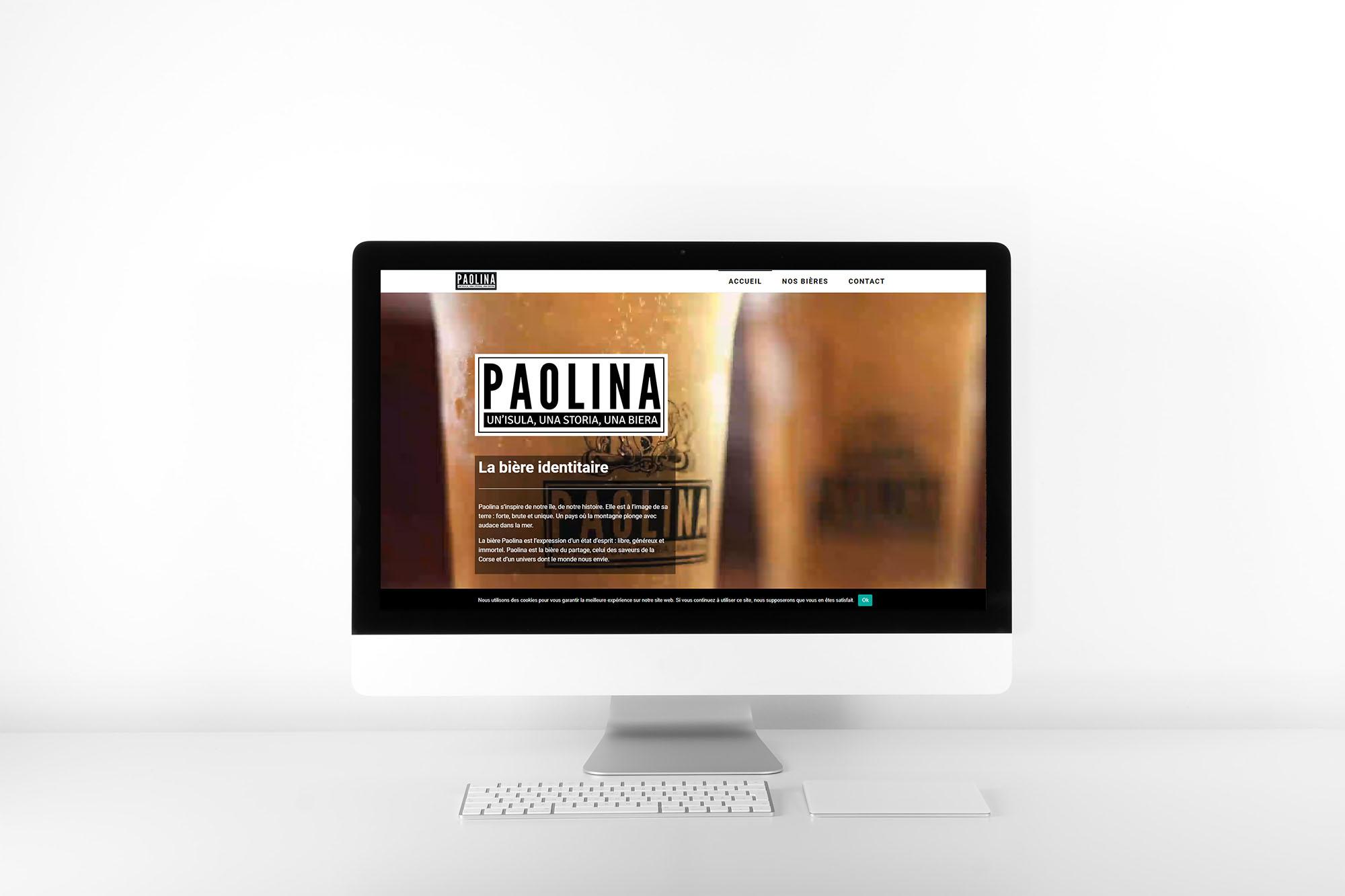 Création de site web en corse