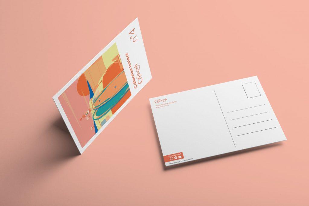 Cartes postales Instant Casanova