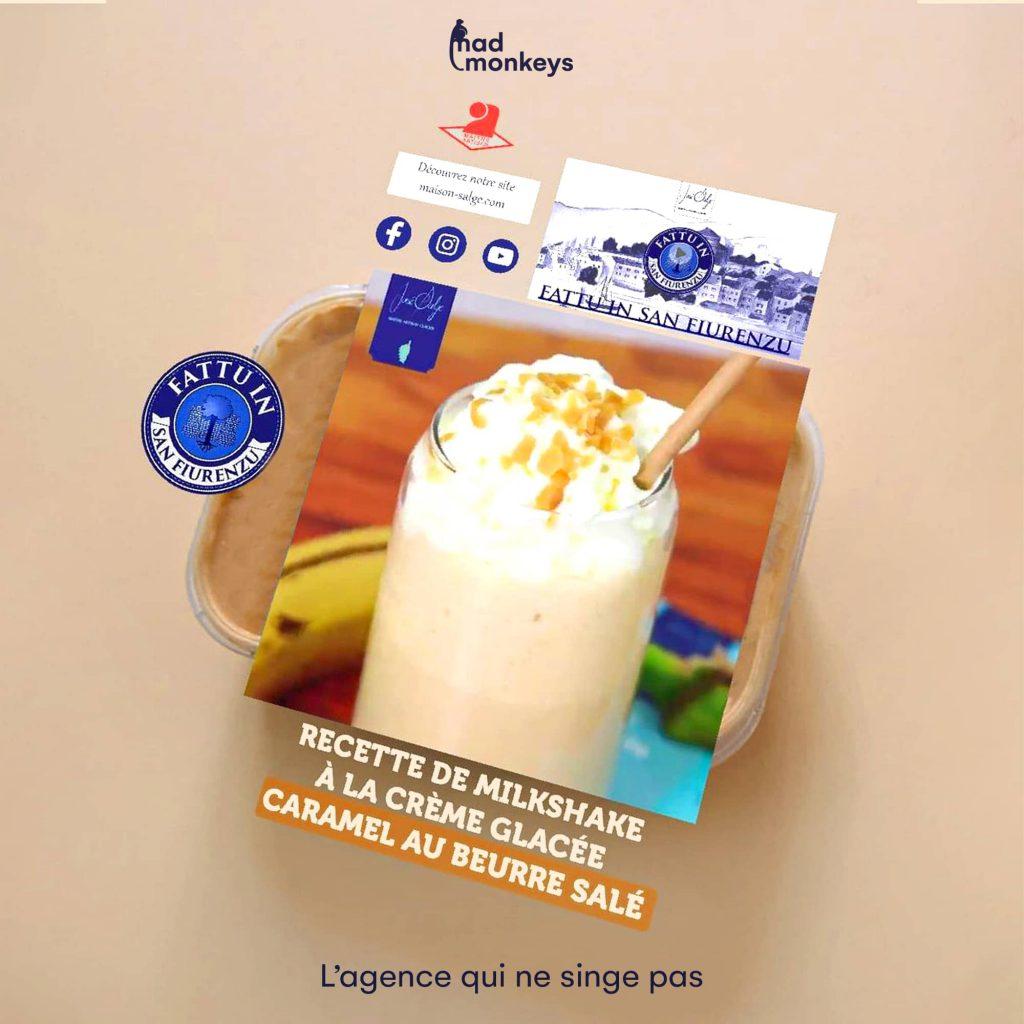 Crème glacée réalité augmentée